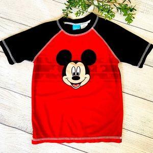 Mickey Mouse 5T Boys Swim Top